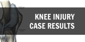 knee injury case results